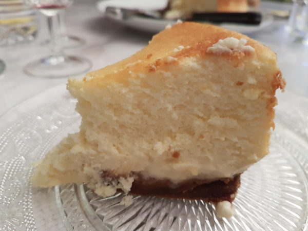 cheese cake citron sur biscuits spéculoos