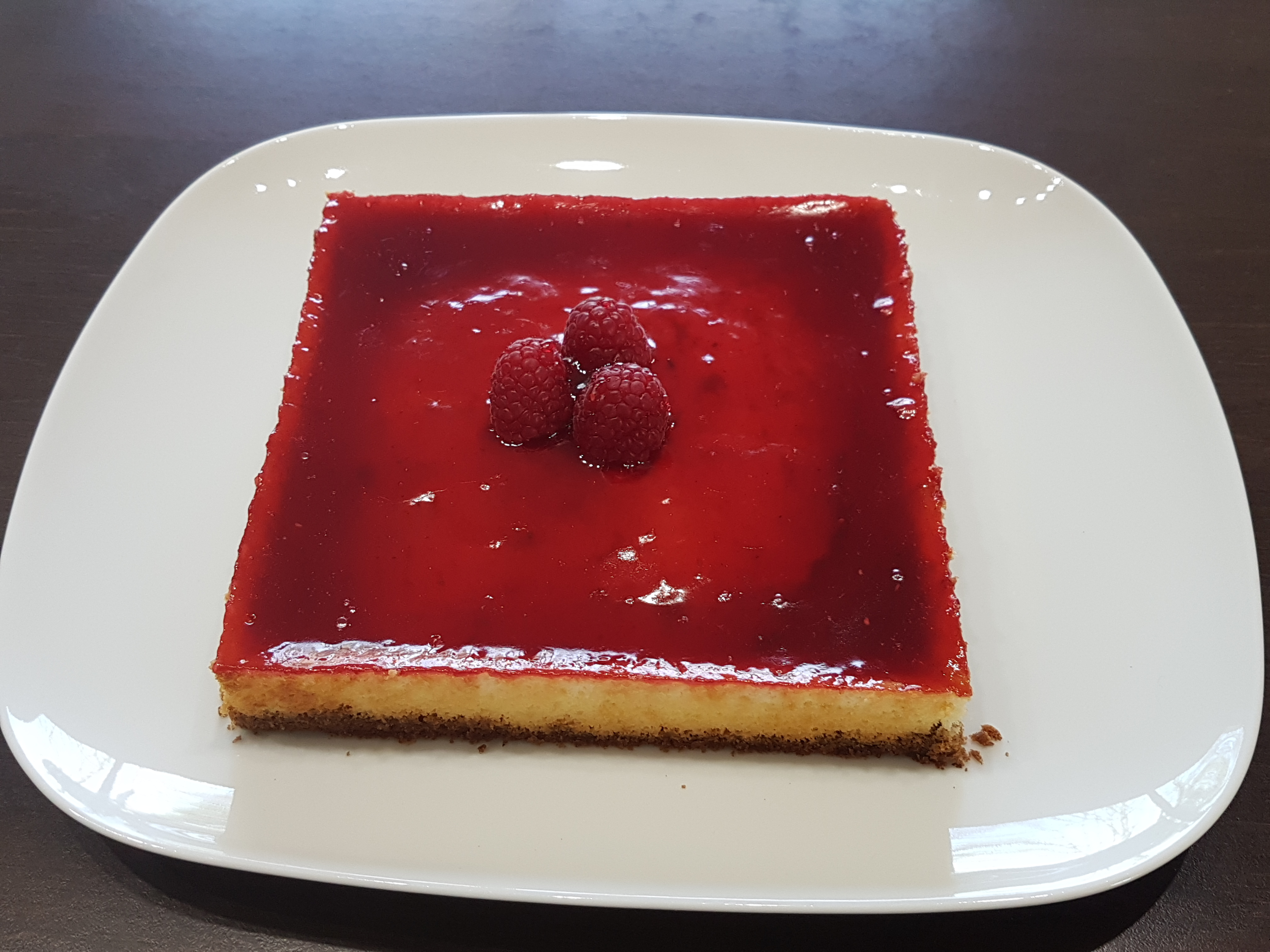 Recette cheesecake vanille framboise