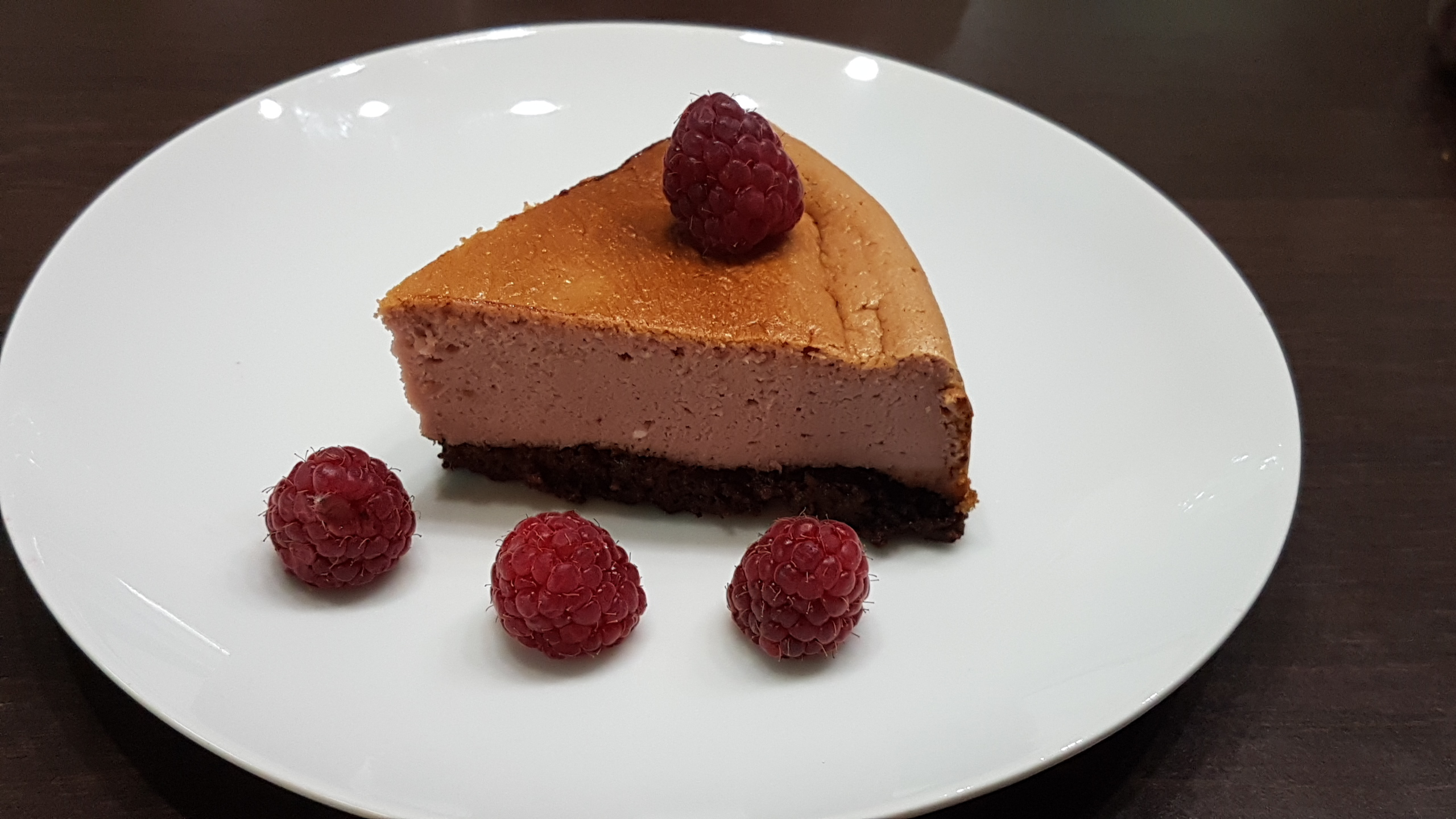 Recette cheese cake framboise